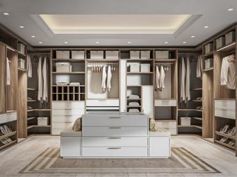 古典風格-衣柜定制